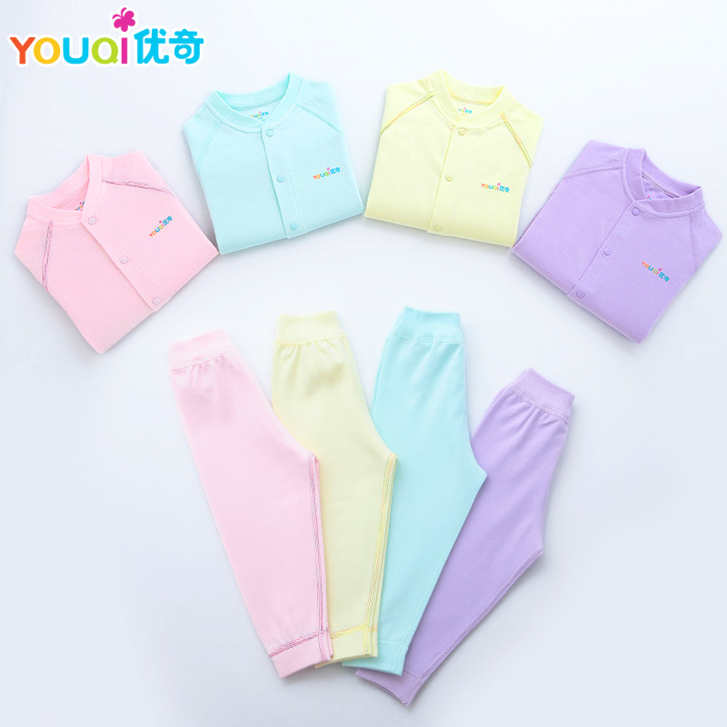 YOUQI 2 Sets Baby Boys Clothes Girls Clothing Set Toddler Infantil Pajamas Top Pants Suit 3 6 Months Spring Autumn Baby Clothes kids boys clothes girls clothing sets toddler pajamas suit owl long sleeve spring 2pcs set baby girl outfit baby pajamas costume