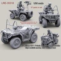 1/35 resin model kit US Military ATV Polaris MV 850 ATV quadrobike (only Car) unpainted and unassembled Free shipping 311G