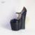 Suru para mujer cuñas peep toe de charol negro con 22 cm tacones grande de gran Tamaño 4041 42 43 44 45 46 47 48 49 HSMA18