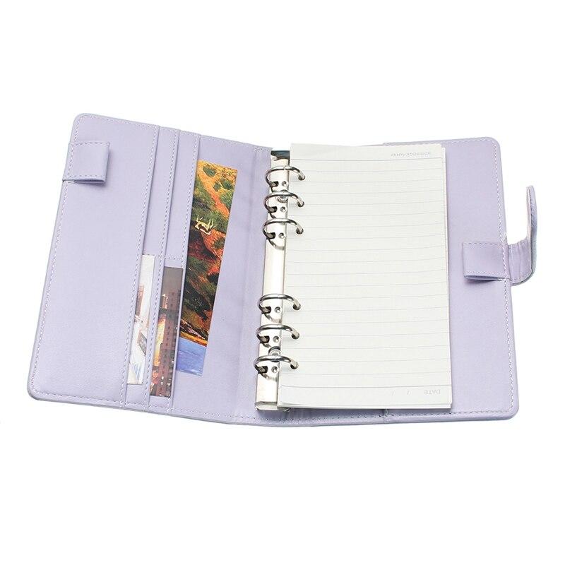 1 Stücke Neue Tagebuch Pvc Shell Lose-blatt Notebook Nette Mädchen Reise Tagebuch Plan Notebook Kleine Frische Notebook Tagebuch Tagebuch A6 Notebooks Office & School Supplies