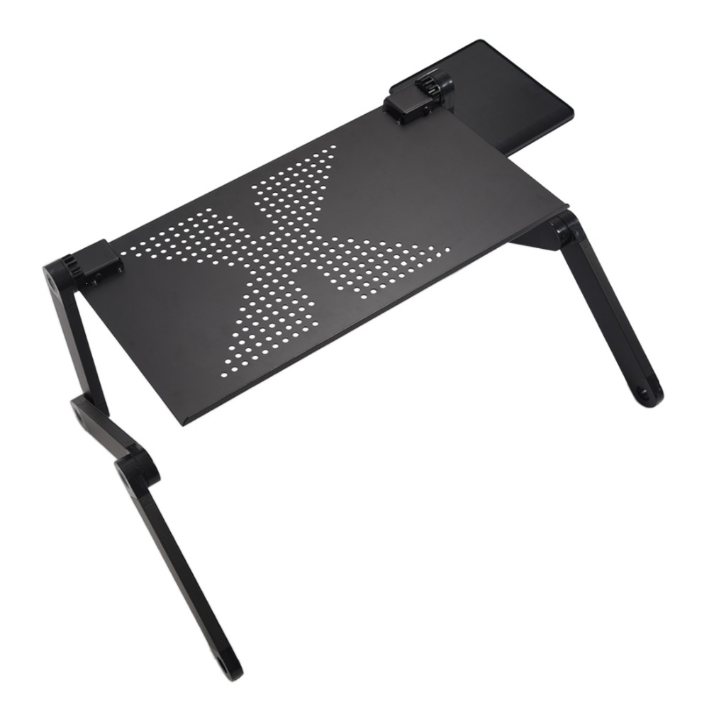 Portable and adjustable laptop stand for use at work and at home 2