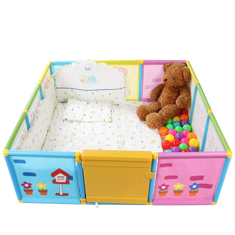 buy baby playpen kids fence playpen plastic baby safety fence pool u003e 6 months like this have space for an actual playroom from reliable