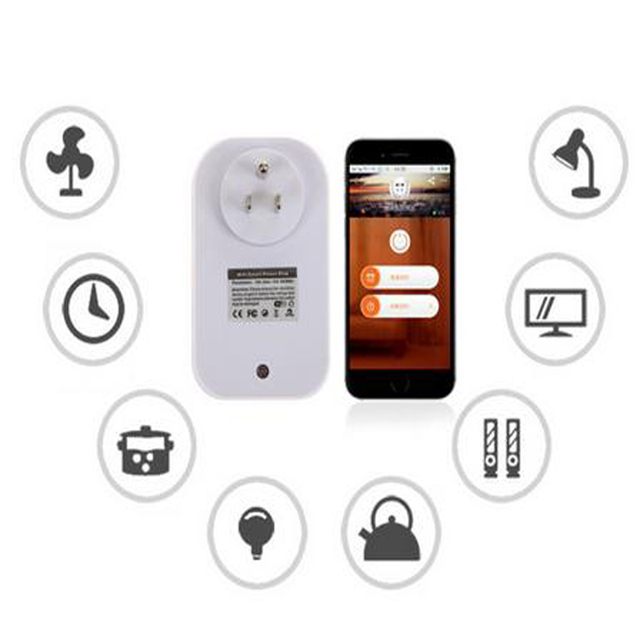 EU,US,UK,AU Power Socket WiFi Intelligent Smart Switch Travel Socket Home Automation App For iPhone For Android