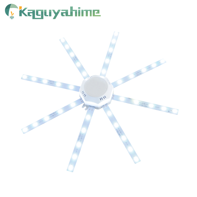 Kaguyahime Magnetic Modified Source <font><b>LED</b></font> Ceiling Lamp 12W 16W 20W <font><b>24W</b></font> 220V Energy Saving Bulb Octopus Board Light Tube <font><b>LED</b></font> <font><b>Module</b></font> image