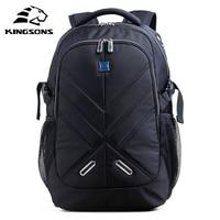 Kingsons Shockproof 15.6 inch Laptop Backpack Male Bag Large Capacity Notebook Bagpack Teenager Boy Mochila Militar School Bags