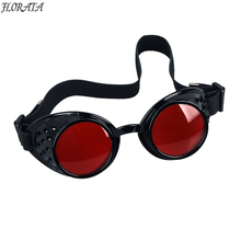 NEW Vintage  Steampunk Goggles Glasses Welding Cyber Punk Gothic Cosplay Free Shipping