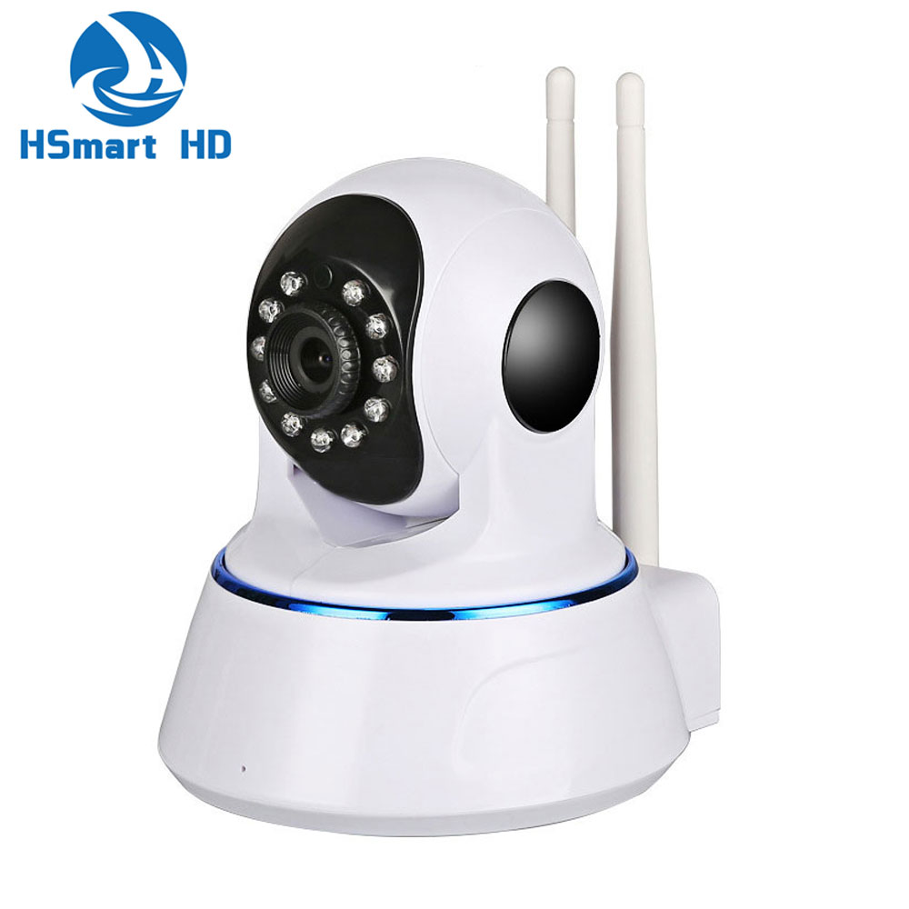 imágenes para HD 1080 P 2.0MP Mini Wireless WiFi P/T Cámara IP de la Seguridad noche Audio Vision Ir-cut Wi-Fi P2P CCTV Red de Interior Bebé Monitor