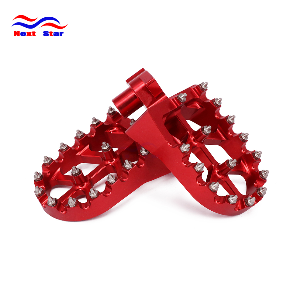 CNC Motorcycle foot rests Footrest footpegs Pegs Pedals For HONDA YAMAHA CR125 CR250 CR500 CR 125 250 500 YZ YZ125 YZ250 WR400 aluminum cnc motorcycle foot rests footrest pegs pedals for kx125 kx250 1997 2001 kx500 1988 1990 free shipping