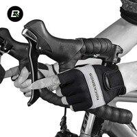 ROCKBROS Summer Cycling Gloves Half Short Finger MTB Road Glovers Sport Motorcycle Racing Cycle Bike Bicycle