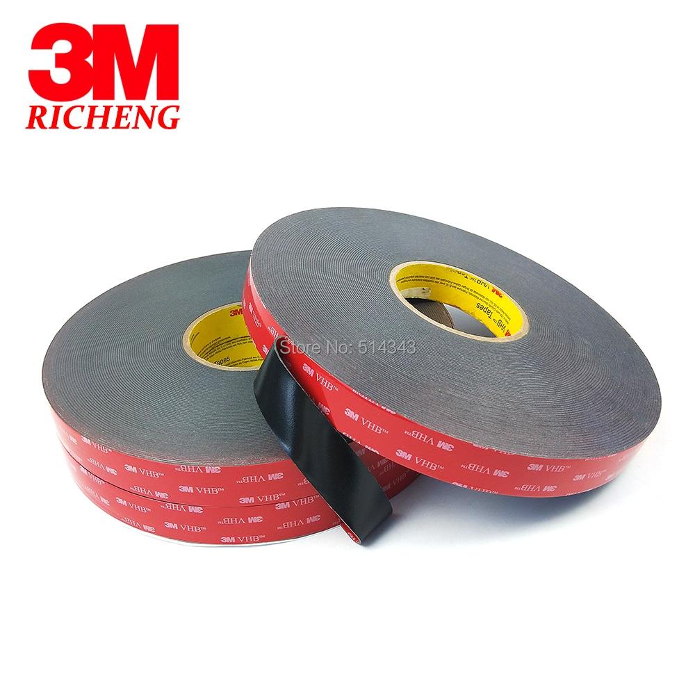 3 メートル VHB 5925 両面粘着防水アクリルフォームテープ 20 ミリメートル * 33 メートル 1 ロール/ロット  グループ上の 家のリフォーム からの テープ の中 2