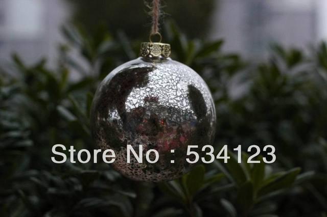 Mercury Glass Decorative Balls Fascinating 12*dia6Cm Popular Mercury Christmas Balls  Wholesale Glass Design Inspiration