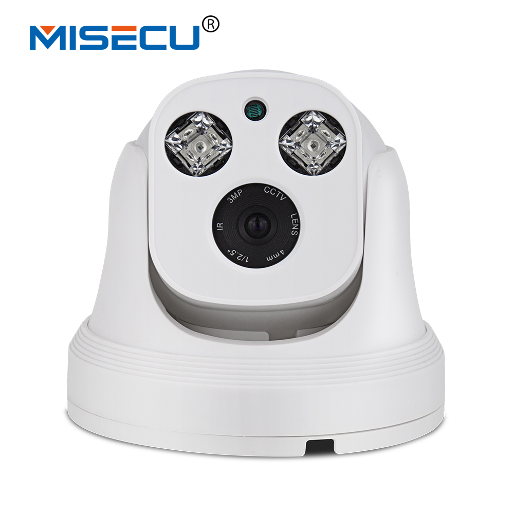 MISECU New HD Onvif P2P 720P/960P/1080P Night Vision IP Camera 360 rotation manually Array IR ABS Camera home security XMEye APP нивелир ada cube 2 360 home edition a00448