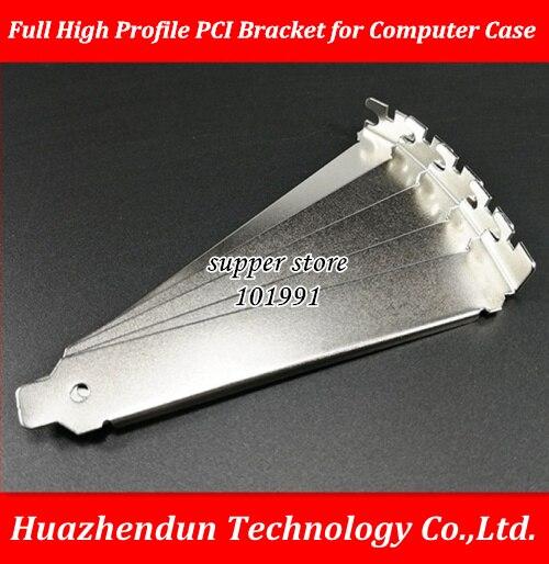 DEBROGLIE Full High Profile General extension bit Bracket for Computer Case video card Mainboard metal block PCI baffle 12CM