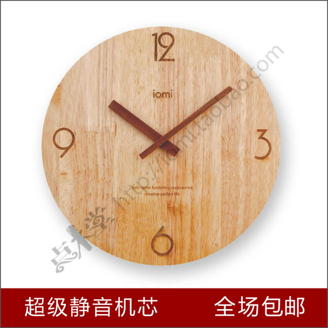 Free shipping wood log clock and watch wood watch clock - Watch over the garden wall online free ...