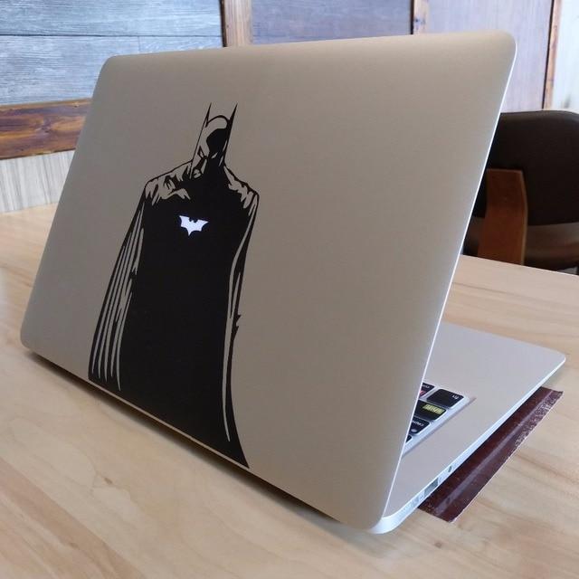 Glowing Batman Decalque Vinil Adesivo Laptop para Apple MacBook Pro 13 Ar Mac Retina 11 12 15 17 polegada HP Dell Mi Superfície Livro pele