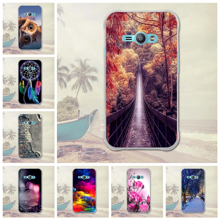 Case for Samsung Galaxy J1 Ace J110 Cases Soft TPU Back Cover for Samsung J1 Ace Luxury 3D Relief Printing Phone Silicone Cover
