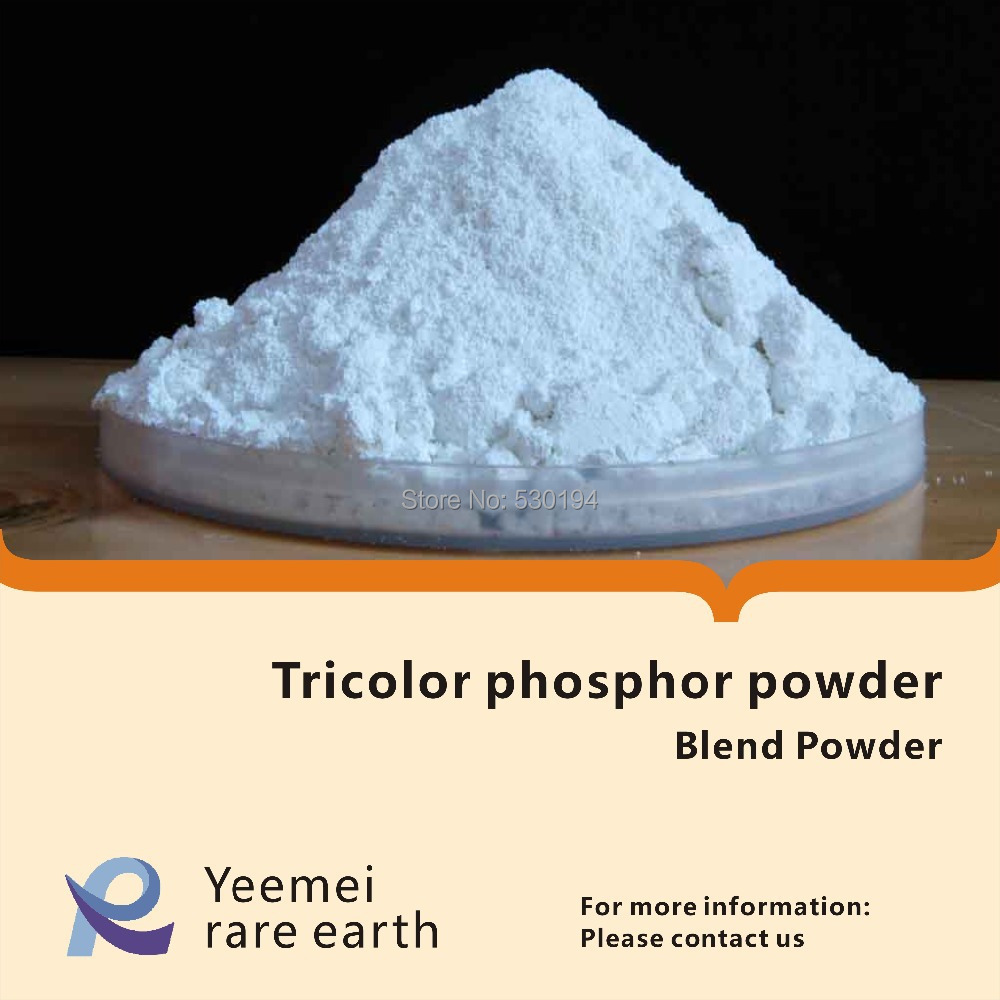 Tricolor phosphor powder / Tri-phosphor Fluorescent Powder is Used in Lamps lola toys long pleasure chain черная анальная цепочка из силикона page 1