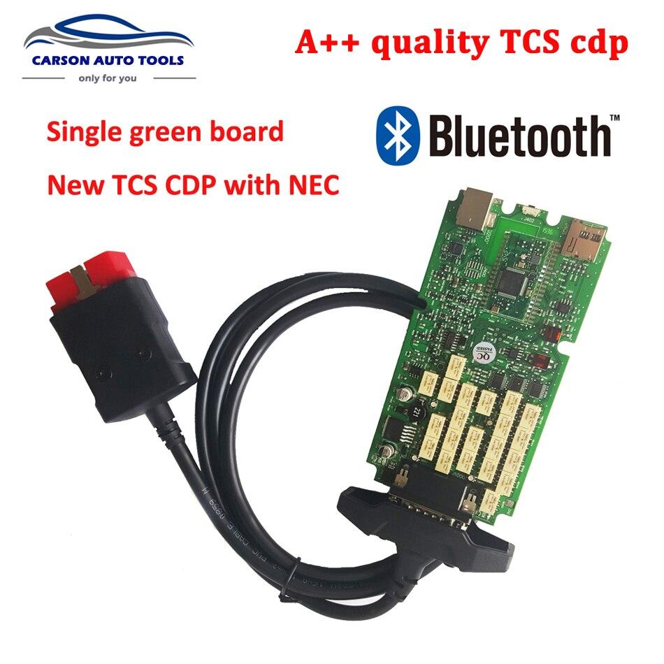 Цена за + Качество TCS cdp С bluetooth один зеленый PCB 2014. R2 программное обеспечение бесплатно keygen cdp автомобилей/грузовиков диагностический инструмент
