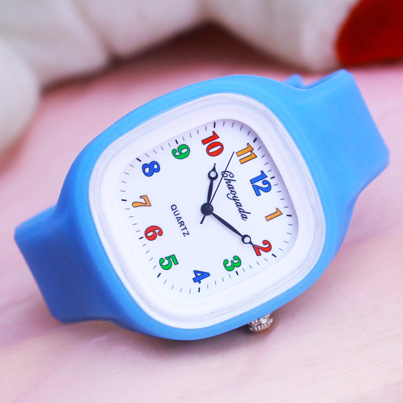 2018 Cyd New Fashion Famous Brand Children's Kids Quartz Silicone Watches Students Girls Boys Jelly Electronic Wristwatches