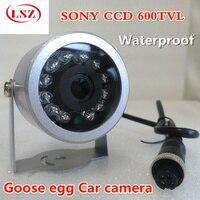 SONY car kamera probe oval yarımküre kızılötesi gece görüş araç izleme HD