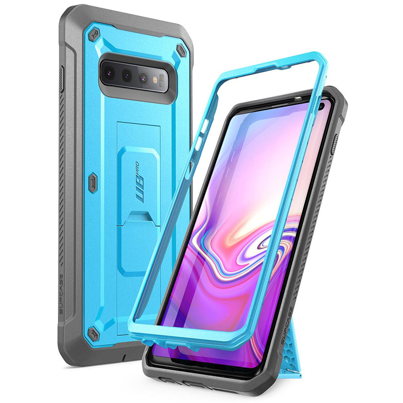 Intellective For Samsung Galaxy S10 Case 6.1 Inch Supcase Ub Pro Full-body Rugged Holster Kickstand Case Without Built-in Screen Protector Strengthening Waist And Sinews Cellphones & Telecommunications