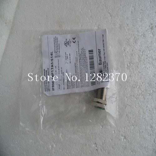 цена на [SA] New original authentic special sales BAUMER sensor switch IFRM 18P17A5 / S14L spot --2PCS/LOT