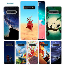 Hakuna Matata lion king Case voor Samsung Galaxy S10 5G S10e S9 S8 M30 M20 M10 J4 J6 Plus j8 2018 Note 8 9 Harde PC Telefoon Cover(China)