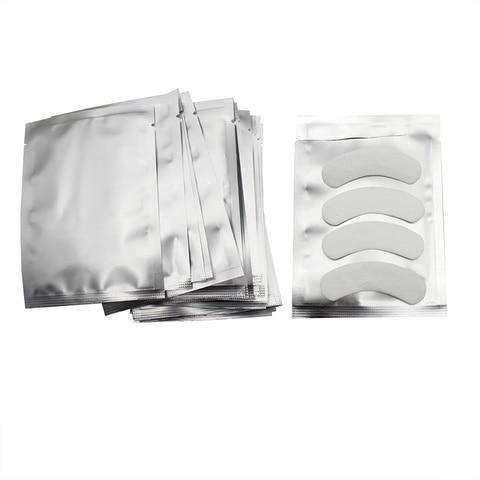 200 pares pacote novos remendos de papel cilios sob almofadas de olho lash cilios extensao