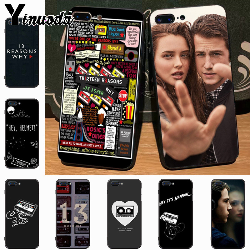 Phone Bags & Cases Yinuoda 13 Thirteen Reasons Why Novelty Fundas Phone Case Cover For Apple Iphone 8 7 6 6s Plus X Xs Max 5 5s Se Xr Cellphones