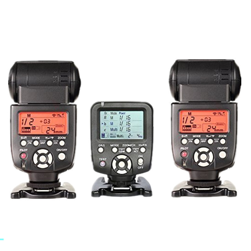Yongnuo 2pcs YN-560III Manual Flash Speedlite Light with YN560-TX LCD Wireless Manual Flash Controller For Canon Nikon DSLR Came genuine meike mk950 flash speedlite speedlight w 2 0 lcd display for canon dslr 4xaa