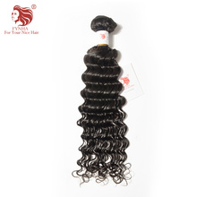 [FYNHA] Peruvian Virgin Hair Deep Wave 100% Human Hair Bundles Natural Color Free Shipping