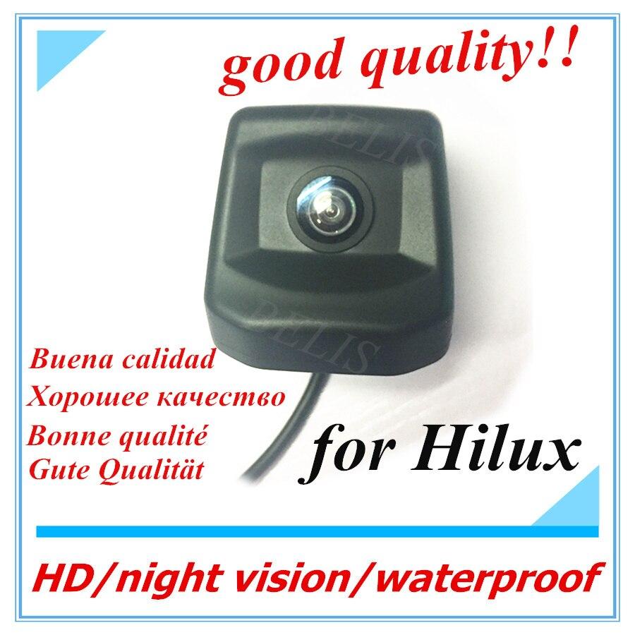 HD CCD RCA ночное видение сзади парковочная камера заднего вида для Субару XV Парковка Обратный камера для Toyota Hilux 2010 ~ 2017 заднего вида