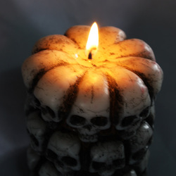 2017 new halloween party decoration skull head candle lighted skulls candles lights funny skull candlestick.jpg 250x250