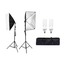 85W Photography Softbox Light Lighting Kit Photo Equipment Soft Studio Light Softbox 19.5
