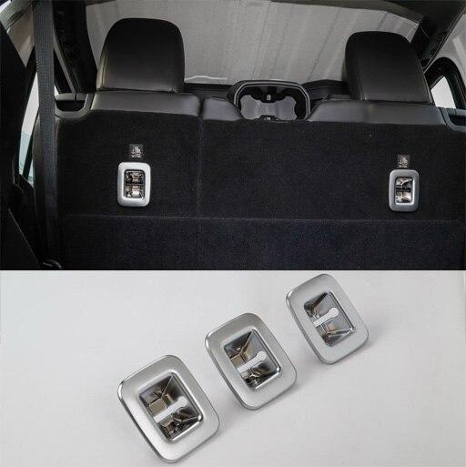 2018 Jeep Wrangler Interior Accessories: CarCarHome Trunk Hook Trims Interior Accessories Parts ABS