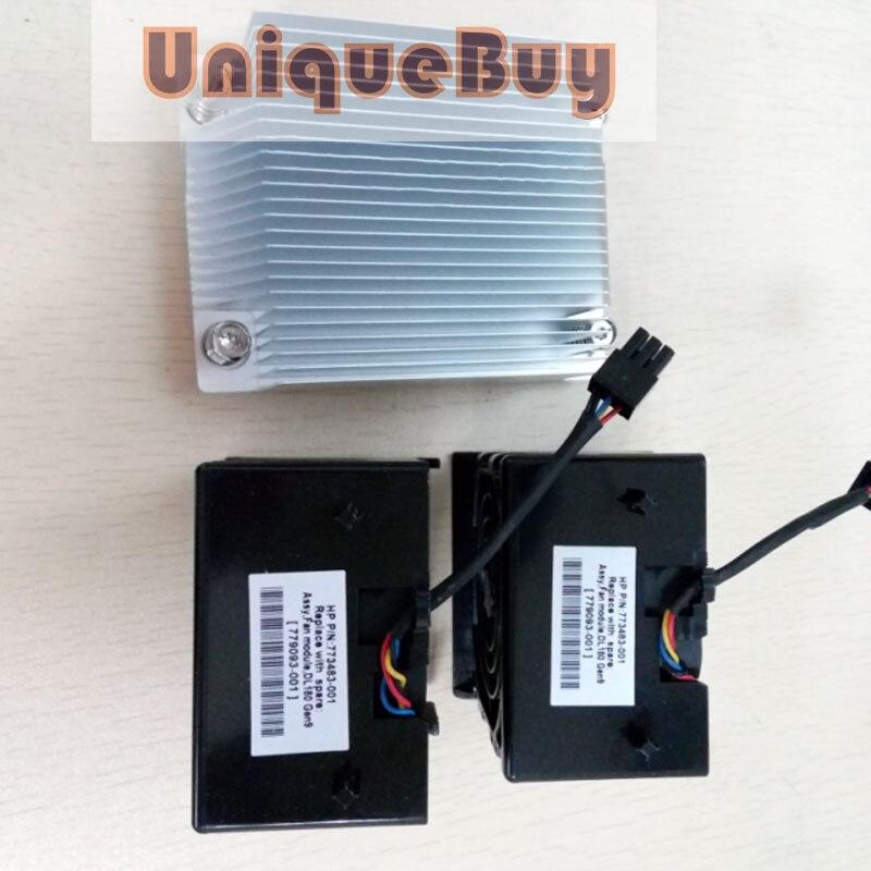 For HP DL180 G9 Xeon CPU Kit Heatsink 773194-001 779091-001 & 2 Fans 773483-001 Cooling Fan Processor Cooler Master Heatsink FanFor HP DL180 G9 Xeon CPU Kit Heatsink 773194-001 779091-001 & 2 Fans 773483-001 Cooling Fan Processor Cooler Master Heatsink Fan