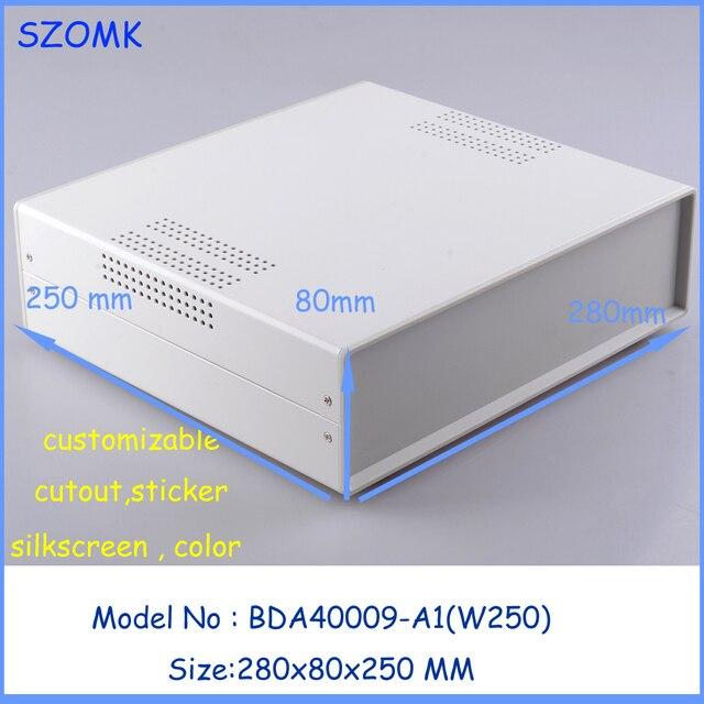 1 stücke) 280x80x250mm elektronische projekt box extrusion gehäuse ...