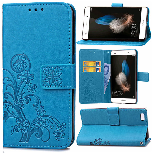 Vintage Flowers Flip PU Leather Phone Case For Huawei Ascend P9 P10 P8 Lite 2017 Y5 ii Nova Honor 8 Stand Card Slot Wallet Cover