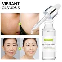 VIBRANT GLAMOUR Vitamin C Facial Serum Hyaluronic Acid Cream Whitening Remover Acne Anti-Aging Brighten Tightening Skin Care Face Care Serum