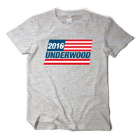 2017 new summer US drama t-shirt card house Underwood Andwood short-sleeved t-shirt male cotton loose t shirt