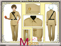 Anime APH Axis Powers Hetalia Spain Military Uniform Cosplay Party Costume Custom Made
