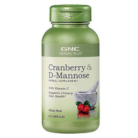 Free Shipping Cranberry & D Mannose with vitamin c supports urinary tract health 60 pcs