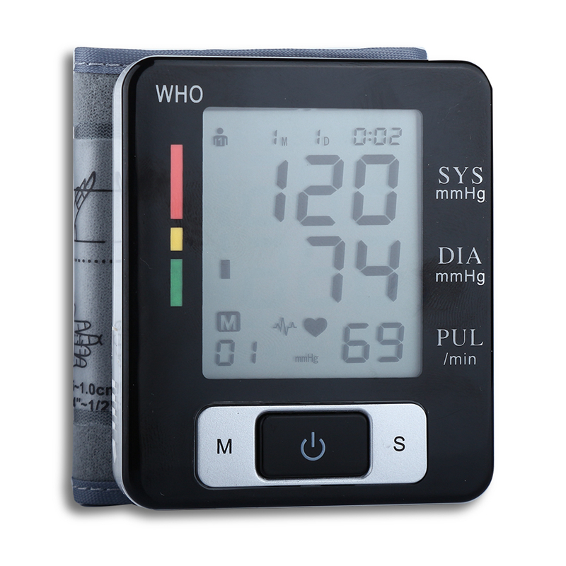 2016 Multifunctional Wrist Blood Pressure Monitor Heart ...