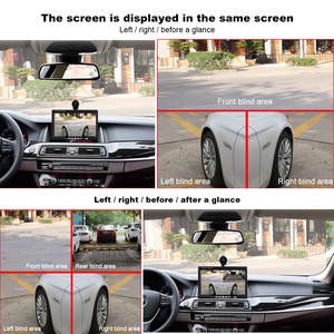 Image 5 - السيارات كاميرا الرؤية الخلفية الأشعة تحت الحمراء وقوف السيارات النسخ الاحتياطي HD CCD للرؤية الليلية مراقبة مقاومة للماء استخدام للسيارة الجانب الأيمن الكاميرا