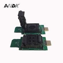 eMMC socket test flash chip eMMC153 eMMC169 BGA169 BGA153 Android phone data backup recovery SD HDMI