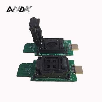 цена на eMMC socket test flash chip eMMC153 socket eMMC169 BGA169 socket BGA153 Android phone flash data backup data recovery SD HDMI