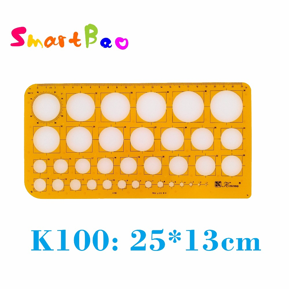 Metric Circle Drafting Template K100 For Pen 0.5 ; AliExpress Saver Shipping