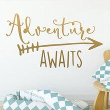 Adventure Vinyl Wall Sticker Wallstickers Decor For Kids Room Decoration Decals Murals adesivo de parede