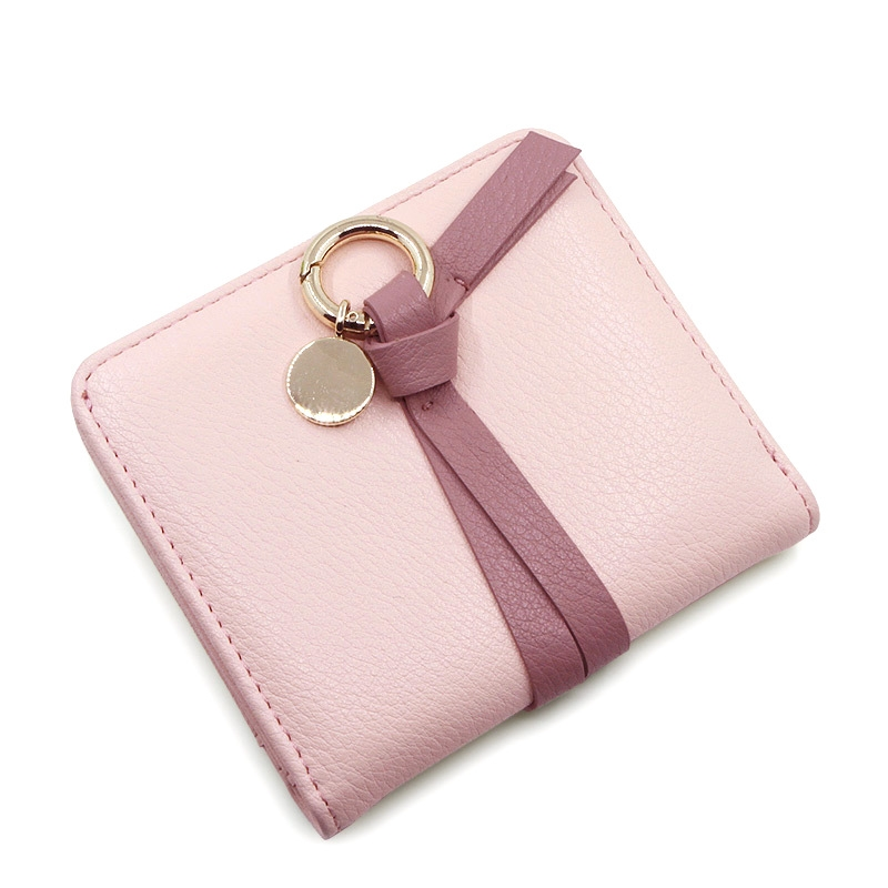 sales Free shipping 2017 new arrival fashion Korea style women's mini wallets brand short fresh wallet PU leather change purse 2016 new arriving pu leather short wallet the price is right and grand theft auto new fashion anime cartoon purse cool billfold