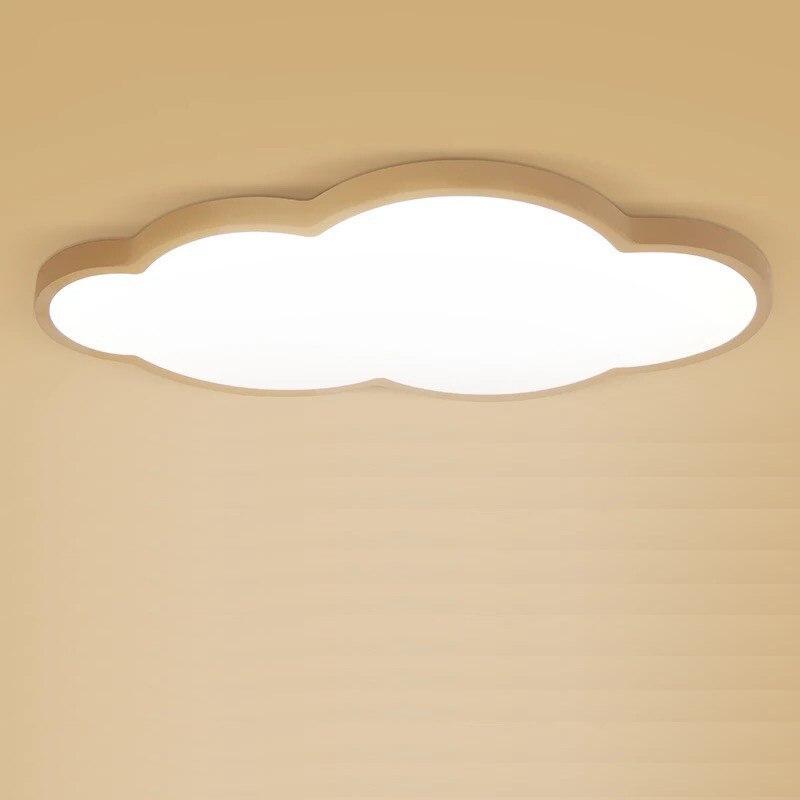 цена на Macaron LED Cloud Children Ceiling Lamp Ceiling Light Acryl High Brightness Chip High Lumens Flush Mount With Blue for Kids Room
